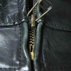 ジッパー交換と袖丈詰め