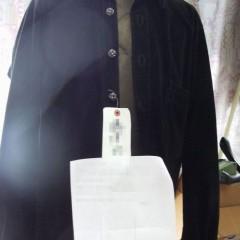 Chrome Hearts(クロムハーツ) レザーシャツの着丈・身幅詰め