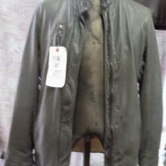 レザージャケットの袖丈、肩幅詰め