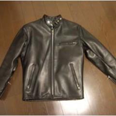 Schott641ライダースジャケットのサイズ直し