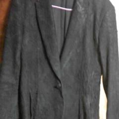 ゴートスキンのジャケットサイズダウン