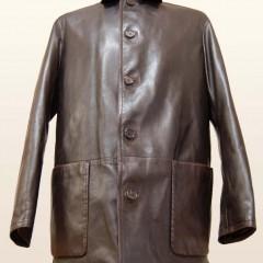 BALLY革のジャケットの裏地総交換