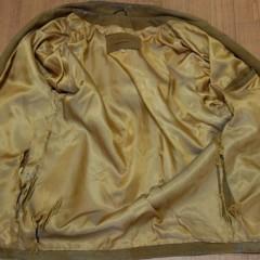 ジャケットの裏地張替え