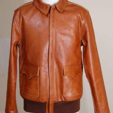 フライトジャケット(A-2) 身幅・袖幅つめ