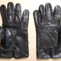 皮手袋のほつれ修理