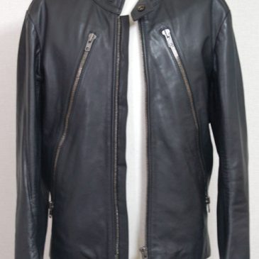Maison Martin Margiela(メゾン・マルタン・マルジェラ) 定番ライダースジャケットの袖丈詰め