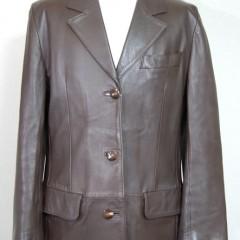皮ジャケットのサイズダウン