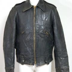 ホースハイドのポリスマンジャケット