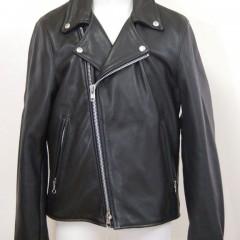 vansonのダブルライダースジャケットの袖丈詰め