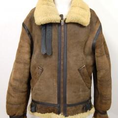 AVIREX TYPE B-3ジャケットの穴補修