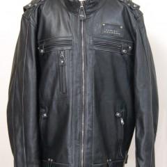 ハーレーの革ジャケットの袖を3.5センチ短く