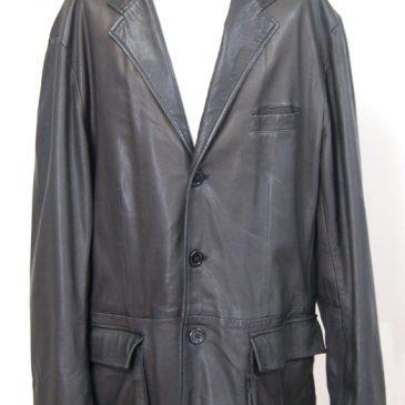 皮ジャケット袖丈直し