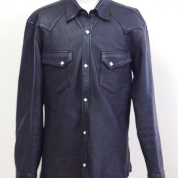 JOE McCOY(ジョーマッコイ) LEATHER SHIRT DEERSKIN(レザーシャツ ディアスキン)の肩幅・身幅・袖幅詰め