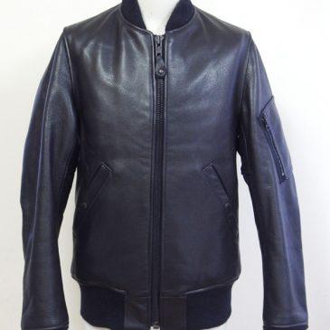 ショット MA1タイプのレザージャケット