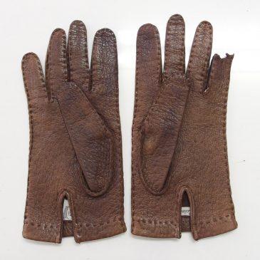 ペッカリーの手袋の修理