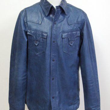 HIDEAWAYS NICOLE(ハイダウェイ ニコル) レザーシャツの袖丈詰め