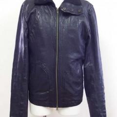 Rick Owens(リックオウエンス) レザーブルゾンの裏地と革の縫製部分から、革が裂け