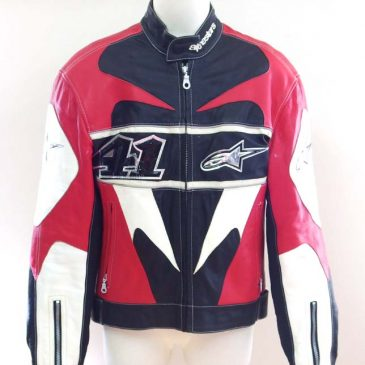 バイク用革ジャケットの袖つめ