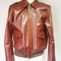フュー フライトジャケットA2  袖丈2cm詰め