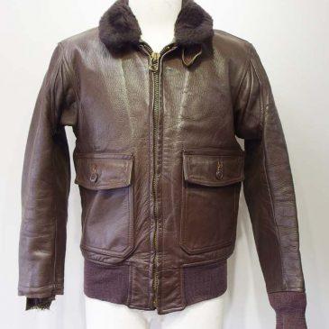 ブリル・ブロス製 U.S.N・G-1ジャケット  両袖リブニット交換