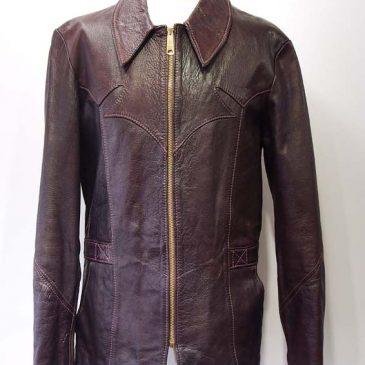 イーストウエスト レザージャケット 肩幅詰め、袖丈詰め、着丈詰め