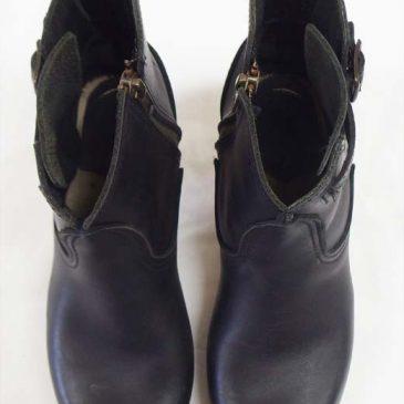 ナンバーシックス ブーツ キズ補修、色落ち補修