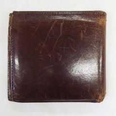 コーチ 財布 クリーニング、色補正、キズ補修