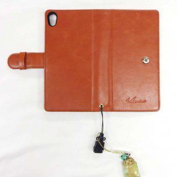 携帯電話のケース 小銭入れ縫製