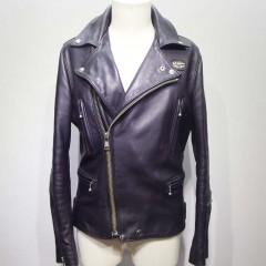 ルイスレザー ライダースジャケット 袖の裏地交換、袖詰め3.5cm