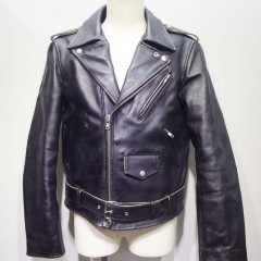 ライダーズジャケット(APC)の袖丈を5センチ短く