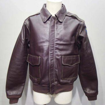 モーガンA2ジャケット(ホースハイド)  袖丈が長すぎるため、袖丈を詰め