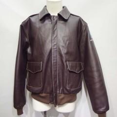 モーガン社製A2フライトジャケット袖丈を3センチ詰め