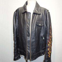 ジャケットのフロントファスナー交換