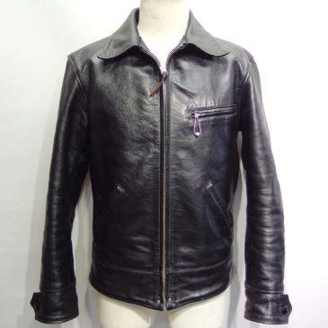 レザーライダースジャケットの肩幅と袖幅