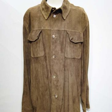 スエードシャツ、A&G 型押しシャツ