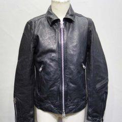 レザージャケット 袖丈、袖幅、身幅の補正