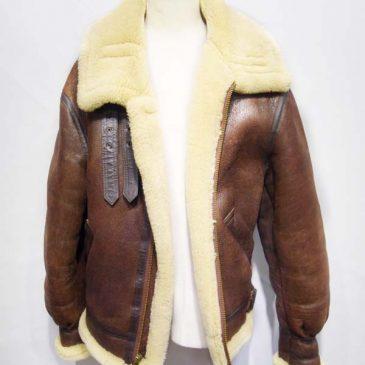 アヴィレックスB3ジャケット ジッパー交換と右腕部分の修理