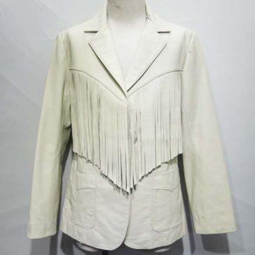 レザージャケット 袖幅、袖丈