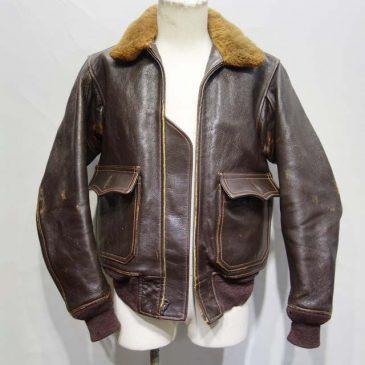 レザーフライトジャケット G-1(リアルマッコイズ)