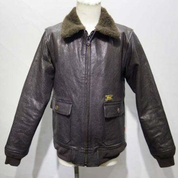 フライトジャケット G-1 着丈4cm詰め、ポケット移動