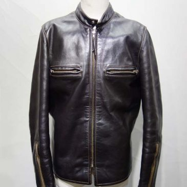 リアルマッコイズ製シングルライダースジャケットj-100 袖幅詰め
