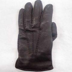 皮の手袋 調整