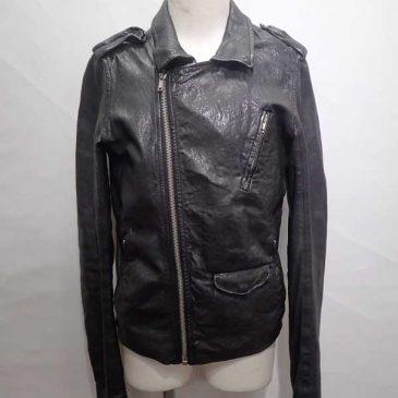 リックオウエンスのレザージャケット