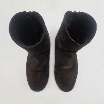 ブーツ2点 染め直し、染め替え、ファスナー新設
