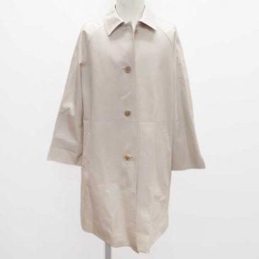 レザー(ラム)コート 袖の加工