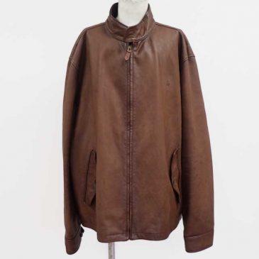 レザージャケット 肩幅詰め、袖丈詰め