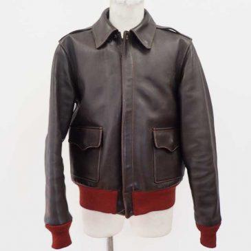 レザージャケット(バズリクソンズ a-2) 身幅と袖幅のサイズダウン