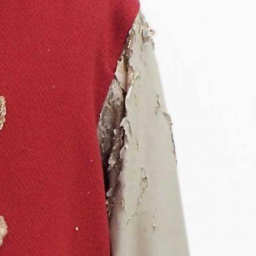 スタジャンの袖