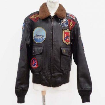 コクピットusa製(トップガンモデル)の G1ジャケットのサイズを小さく