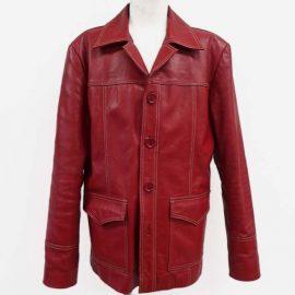 レザージャケット 袖丈詰め、補強